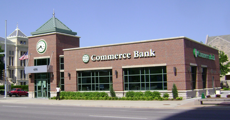 Commerce bank downtown wichita hutton construction for Exterior construction wichita ks
